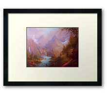 Osgiliath Pause For Thought Framed Print