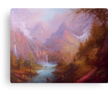Osgiliath Pause For Thought Canvas Print