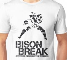 BISON BREAK - black edition Unisex T-Shirt