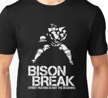 BISON BREAK - white edition Unisex T-Shirt