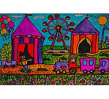 The Circus Is Coming To Town Photographic Print