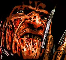 freddy krueger, art, by American Artist
