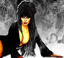 Elvira - Mistress of the dark by American Artist