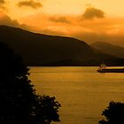 Loch Linnhe Sunrise by Ian Jeffrey