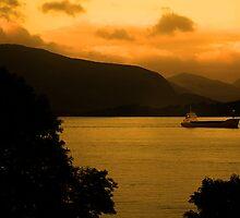 Loch Linnhe Sunrise by Ian Jeffrey