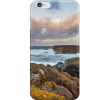 POTSOY HARBOUR - STORM BREWING iPhone Case/Skin