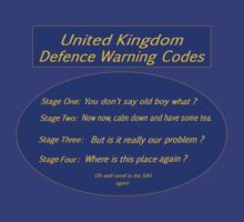 U K Defence Codes by Radwulf
