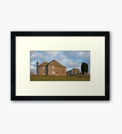 KILDRUMMY KIRK Framed Print
