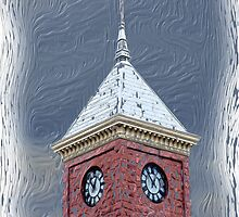 RB_BS_0004 Coconino County Clock Tower, Arizona by raven777