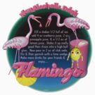 Flamingo adult drink recipe by Valxart  by Valxart