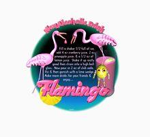 Flamingo adult drink recipe by Valxart  Unisex T-Shirt