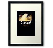 Drinks on me... Framed Print