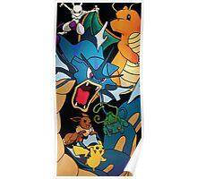 Pokemon Collage Poster