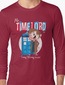 Timey Wimey trouble Long Sleeve T-Shirt