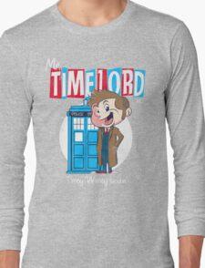 Timey Wimey trouble Long Sleeve T-Shirt