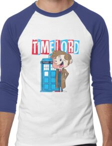 Timey Wimey trouble Men's Baseball ¾ T-Shirt
