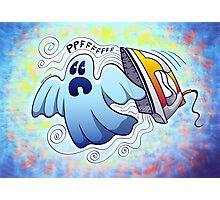 Ghost Ironing Nightmare Photographic Print
