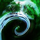 Green Swirl by Joanne Pickering