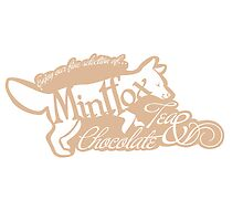 Mintfox Poster Tea and Chocolate (brown white version) by Bettina-Jeannette  Bierwirth