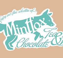 Mintfox Poster Tea and Chocolate by Bettina-Jeannette  Bierwirth