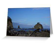 First Beach, LaPush, Washington Greeting Card