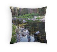 Dinkey Creekside  Throw Pillow