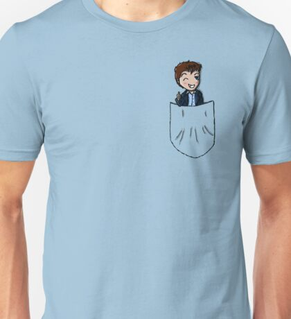 Captain Jack Harkness - pocket buddy Unisex T-Shirt