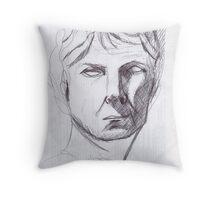 portrait roman Throw Pillow