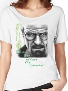 Walter White - Respect the Chemistry  Women's Relaxed Fit T-Shirt
