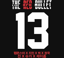BTS THE RED BULLET (Red & White) Unisex T-Shirt