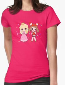 Peach and May Celebrate! Womens Fitted T-Shirt