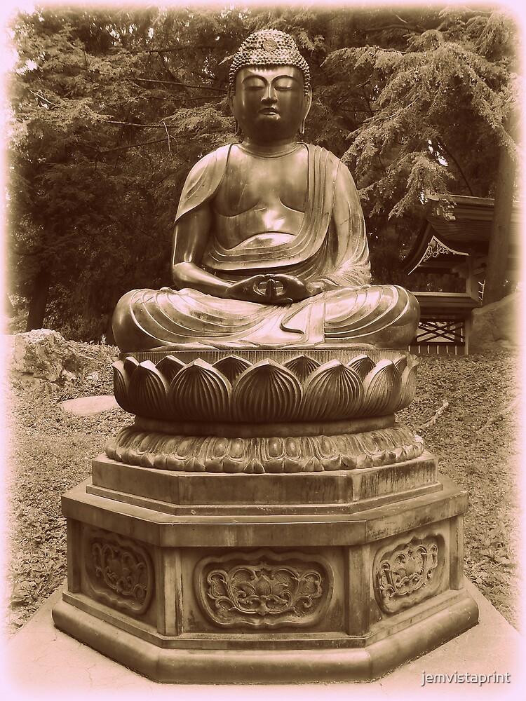 Zen Japanese Garden by jemvistaprint