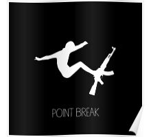Point Break Movie AK-47 Surf Poster