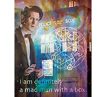 11th Doctor Who Matt Smith Photographic Print