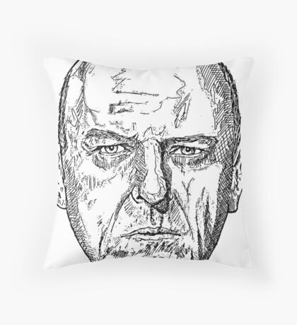 Hank Schrader Breaking Bad Throw Pillow