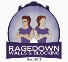 ragedown no scrolls Kids Tee