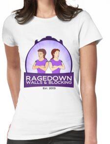 ragedown no scrolls Womens Fitted T-Shirt