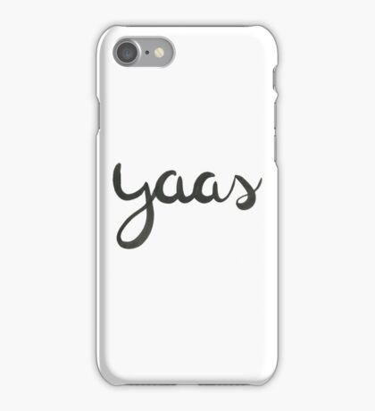 yaas iPhone Case/Skin