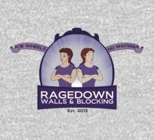 ragedown with scrolls One Piece - Short Sleeve