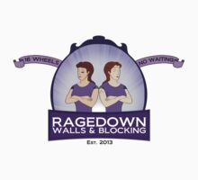 ragedown with scrolls Kids Tee