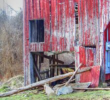 Weathered Barn by James Brotherton