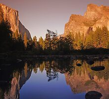 Mountain reflections by Mark Walker