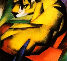 Franz Marc - Tiger by William Martin