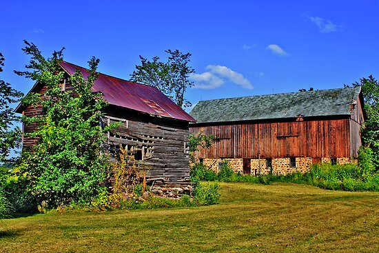 Barns by EBArt