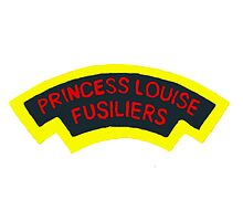 Princess Louise Fusiliers sleeve patch by boogeyman