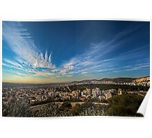 A clear Athens sky... Poster