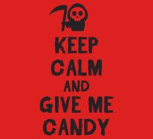 Keep calm and give me candy One Piece - Short Sleeve
