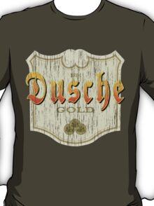 Dusche - Beer Label T-Shirt