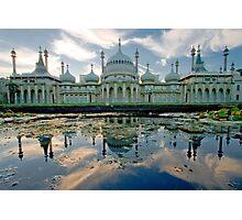 Brighton Pavillion Reflections Photographic Print