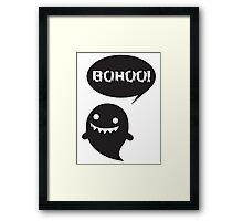 Bohoo Ghost Framed Print